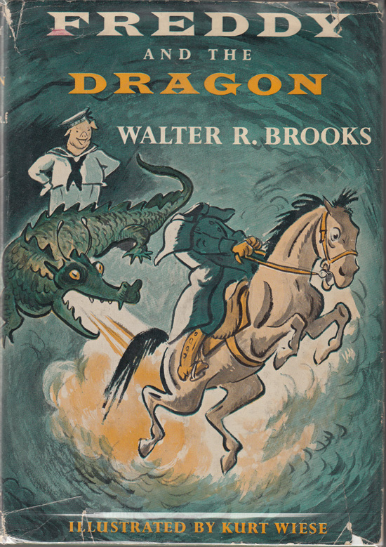 Freddy and the Dragon. Walter R. Brooks.