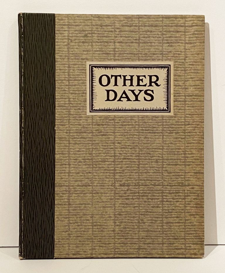 OTHER DAYS: IN PICTURES AND VERSE (SIGNED)