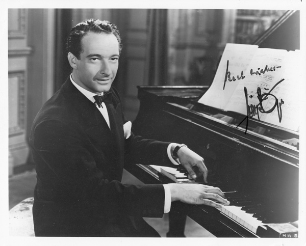 My Favorite Intermissions: Lives of The Musical Greats and Other Facts You Never Knew You Were Missing (SIGNED with signed photo). Victor Borge, Robert Sherman.