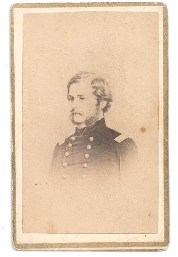 The Life and Poems of Theodore Winthrop (with carte de visite of Winthrop). Theodore Winthrop.
