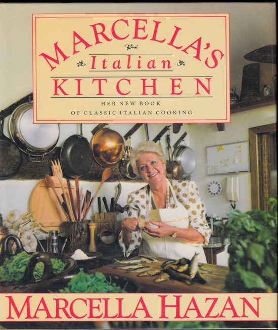 Marcella's Italian Kitchen (SIGNED). Marcella Hazan.