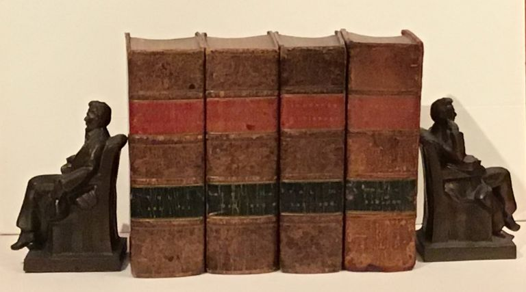 A Dictionary of the English Language: In Which the Words are Deduced From Their Originals, to Which are Prefixed a History of the Language, and an English Grammar (4 volumes). Samuel Johnson.
