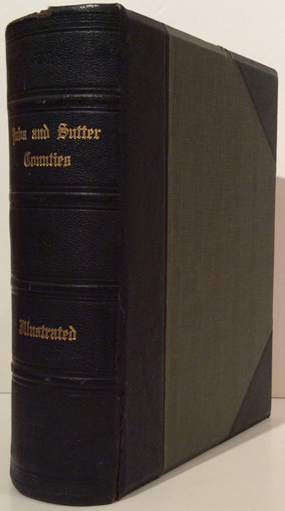 History of Yuba and Sutter Counties, California