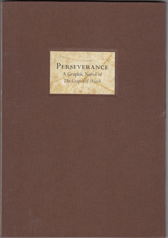Perserverance: A Graphic Novel of The Grapes of Wrath (SIGNED). Adrienne Hooker, John Steinbeck.