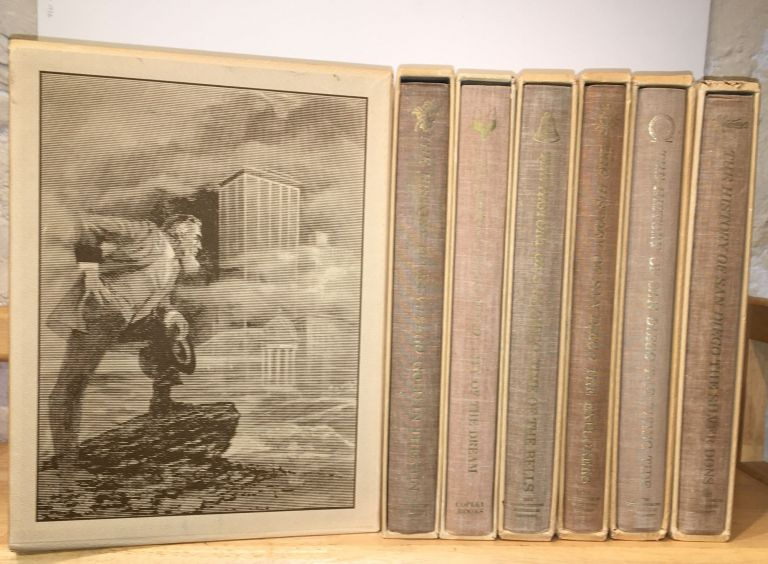 The History of San Diego (SIGNED, Seven Volume Set). Richard F. Pourade, James S. Copley.