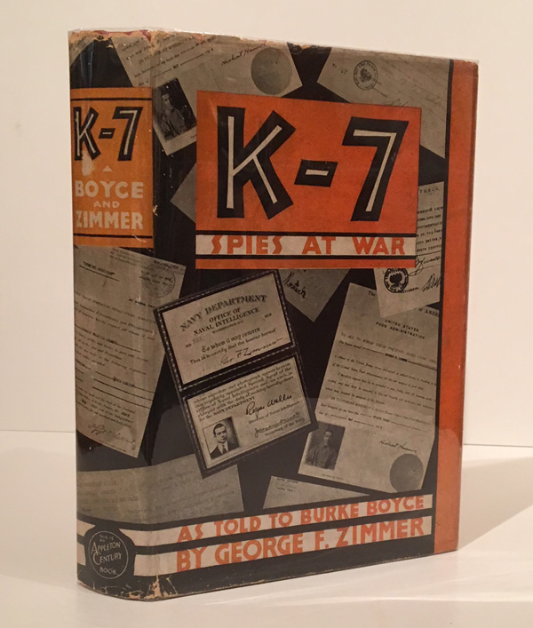 K-7: Spies at War (INSCRIBED)