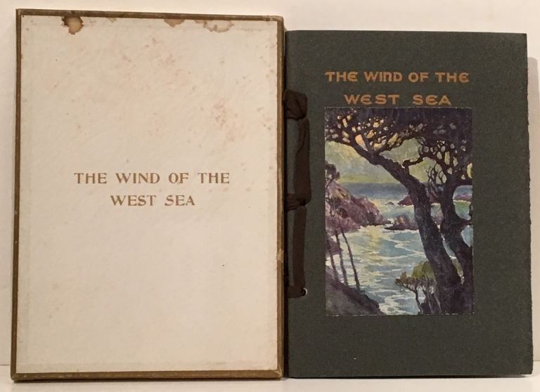The Wind of the West Sea and Other Songs (INSCRIBED). May Gibbons Cooper.