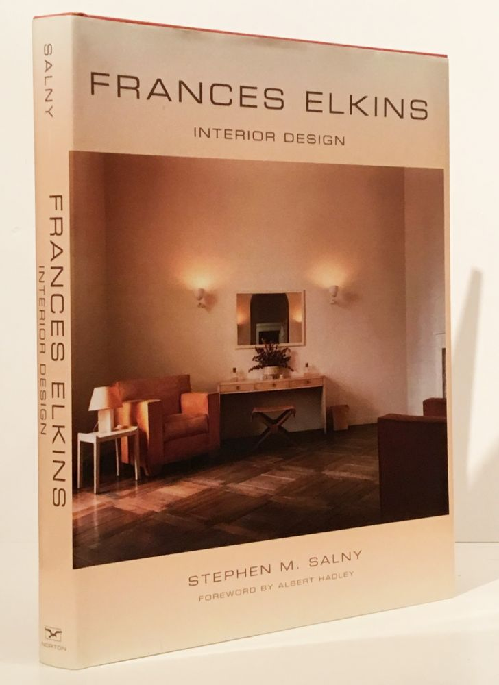 Frances Elkins, Interior Design (INSCRIBED)