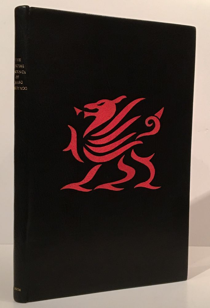 The Special Bindings of Gwasg Gregynog: An Illustrated Catalogue of the Special Bindings Produced at Gregynog Between 1977 and 2002. Anthony Dowd, James Brockman, compiler.