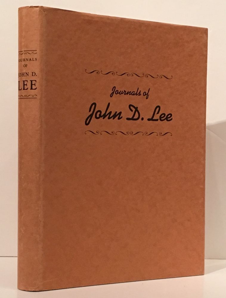Journals of John D. Lee, 1846-7 and 1859 (SIGNED by Charles Kelly). John D. Charles Kelly Lee.