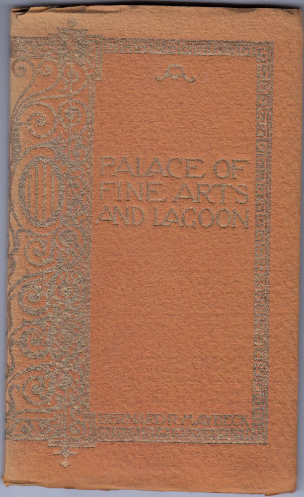 Palace of Fine Arts and Lagoon: Panama-Pacific International Exposition,1915. Bernard R. Maybeck.
