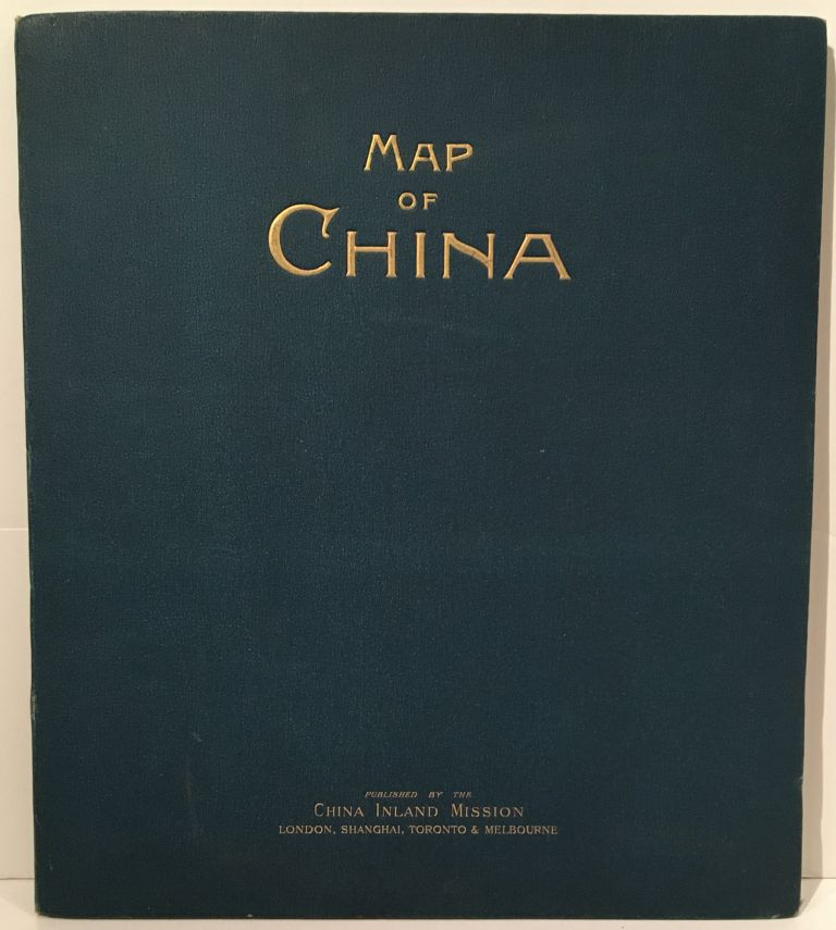 Map of China Prepared for the China Inland Mission. Emil Bretschneider.