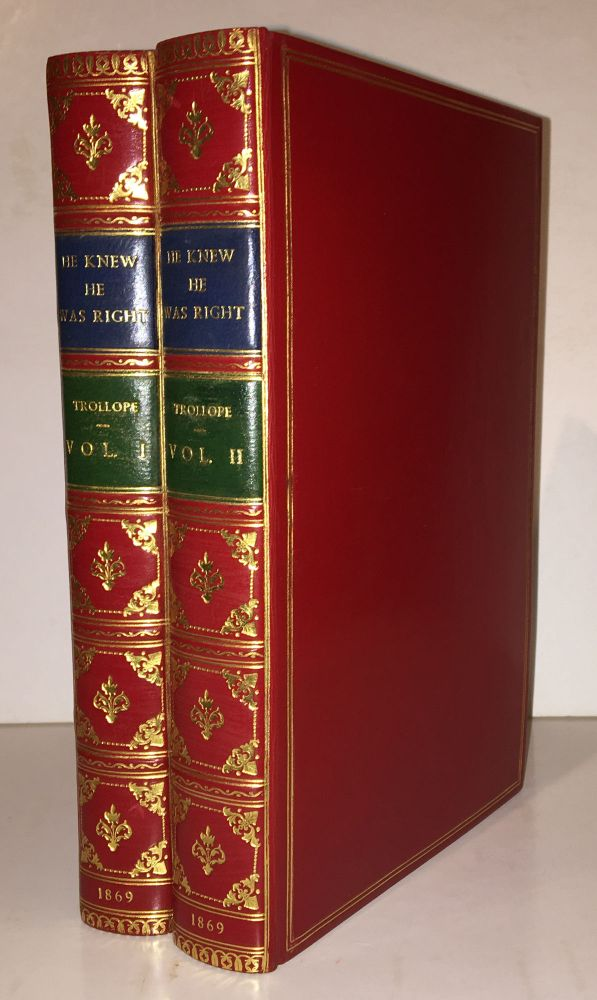 He Knew He Was Right (2 volumes). Anthony Trollope.
