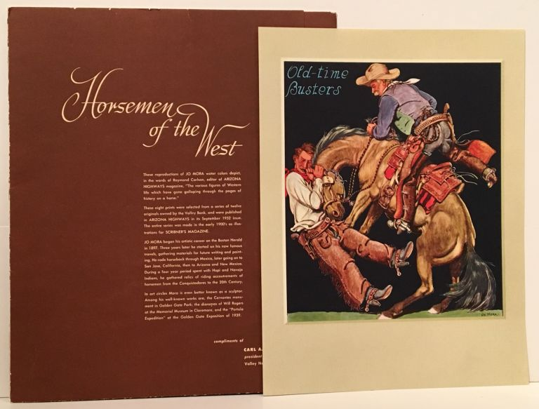 Horsemen of the West Prints (8 complete). Jo J. Mora.