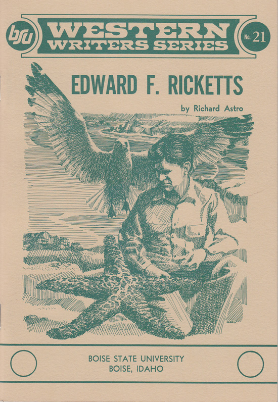Edward F. Ricketts (Western Writers Series No 21). Richard Astro.