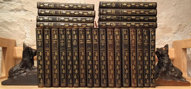 The Works of Sir Walter Scott, Bart. - New Century Library (25 Volumes). Sir Walter Scott.