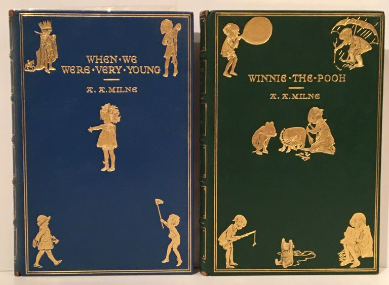 Winnie-the-Pooh, The House at Pooh Corner, When We Were Very Young, Now We Are Six (4 volumes). A. A. Milne.