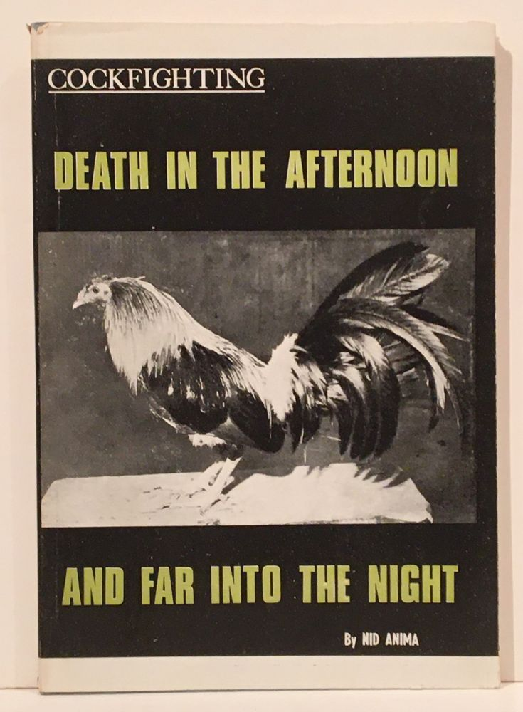 Death in the Afternoon and Far into the Night (SIGNED