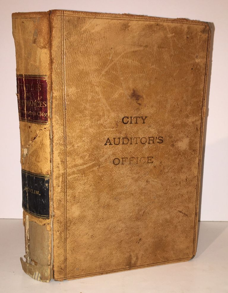 Statutes of the State of California Relating to the City of Sacramento, with the Ordinances Now in Force. Robert T. Devlin, compiler.