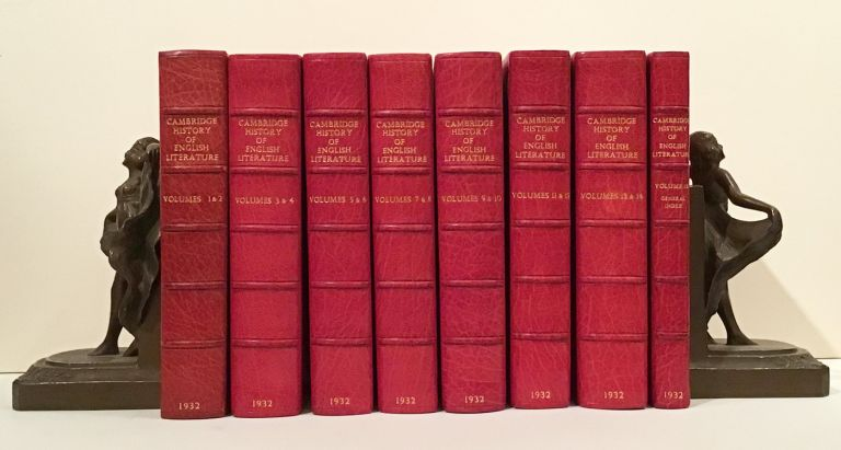 The Cambridge History of English Literature (14 Volumes & Index). Sir A. W. Ward, A. R. Waller.