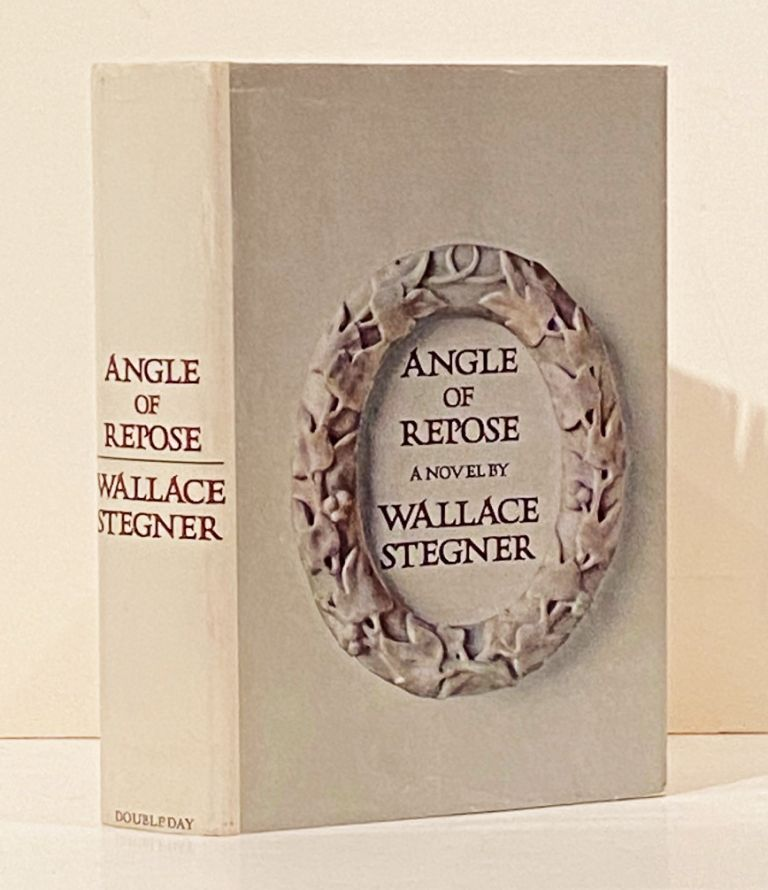 Angle of Repose: A Novel (INSCRIBED). Wallace Stegner.