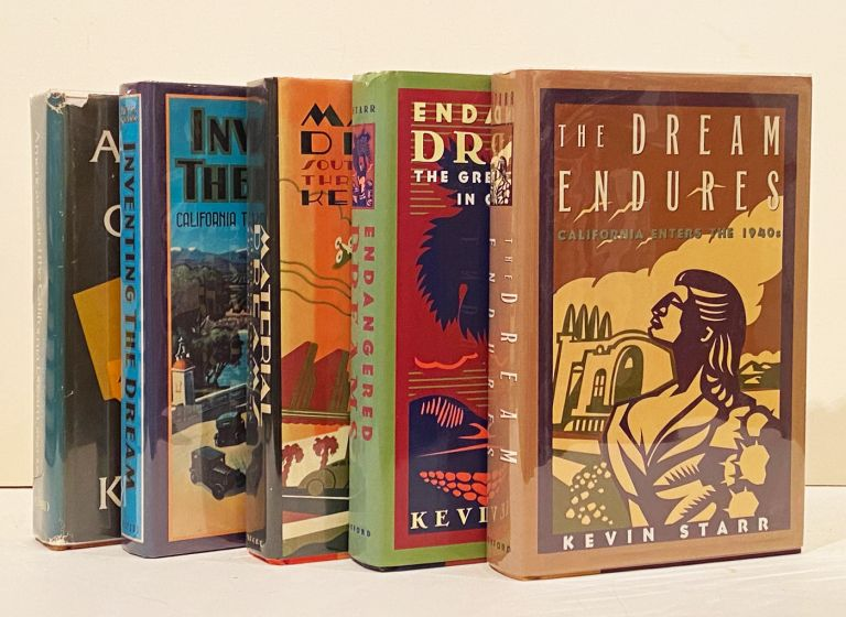 History of California: Americans and the California Dream Series (5 volumes, INSCRIBED). Kevin Starr.