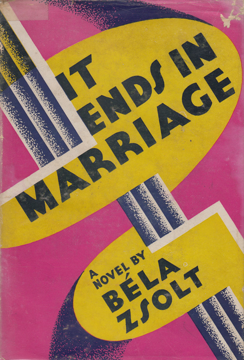 It Ends in Marriage. Bela Zsolt.
