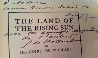 The Land of the Rising Sun (SIGNED)