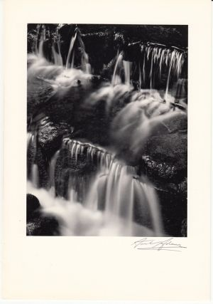 a greeting from virginia and ansel adams for 1958