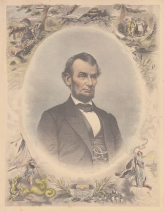 Abraham Lincoln (Color Engraving
