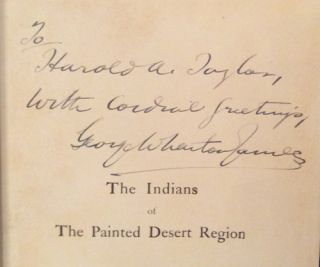 Indians of the Painted Desert Region: Hopis, Navahoes, Wallapais, Havasupais (SIGNED)