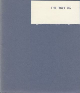 The First Six. Mildred Sherrod Bissinger