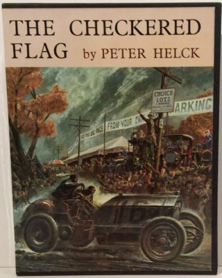 The Checkered Flag (SIGNED). Peter Helck