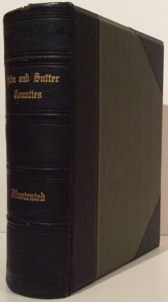 History of Yuba and Sutter Counties, California. Peter J. Delay.