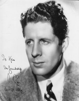 Archive of Rudy Valley Letters & Original Photograph (SIGNED). Rudy Vallee.