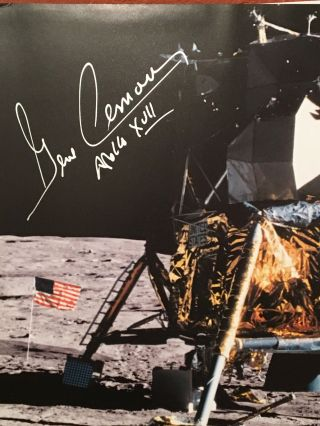 Apollo: The Epic Journey to the Moon (SIGNED by Gene Cernan)