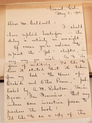 The House of Orchids (with letter SIGNED by author)