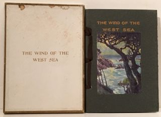 The Wind of the West Sea and Other Songs (INSCRIBED). May Gibbons Cooper