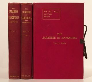 The Japanese in Manchuria, 1904 (Complete in 2 Text Volumes + Map Portfolio). E. L. Cordonnier, C...