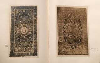 The Garden of Paradise Rug and the Holy Carpet of the Mosque at Ardebil reproduced with variations in silk
