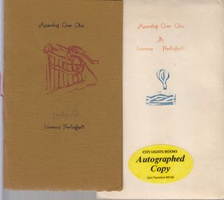 Ascending Over China (SIGNED). Lawrence Ferlinghetti