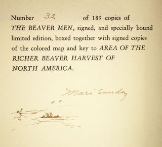 The Beaver Men: Spearheads of an Empire (SIGNED, Two Volumes)