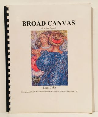 Broad Canvas (SIGNED). Arthur Tennent