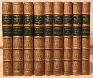 LITERATURE] The Works of Ben Jonson (9 volumes). Ben Jonson, W. Gifford