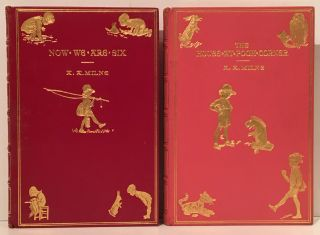 Winnie-the-Pooh, The House at Pooh Corner, When We Were Very Young, Now We Are Six (4 volumes)