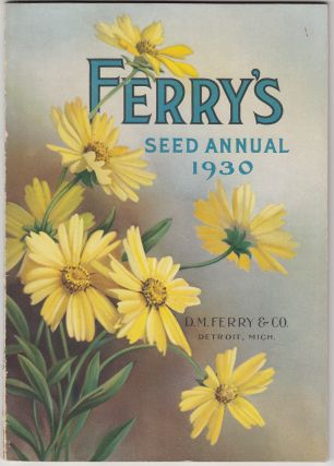 Ferry's Seed Annual 1930