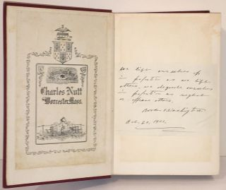 Up From Slavery (with manuscript sentiment SIGNED by the author)