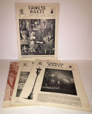 Chinese Digest (4 issues; V. 3. No. 7; V. 4, Nos. 1, 3, 4). William Hoy