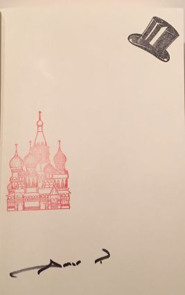 A Gentleman in Moscow (SIGNED)