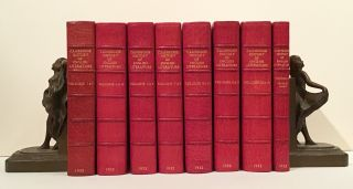 The Cambridge History of English Literature (14 Volumes & Index). Sir A. W. Ward, A. R. Waller